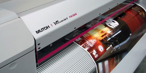 Mutoh ecosolvent printing
