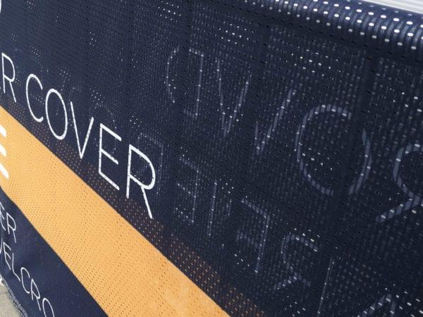 Polyester Netz Banner