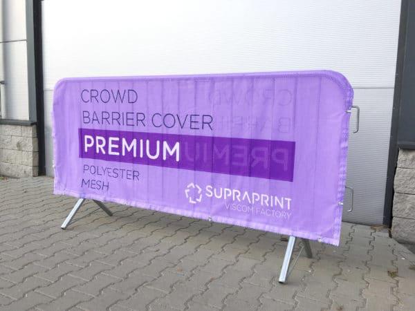 Polyester Banner für Absperrgitter