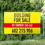 Eigentum zum vermieten Banner