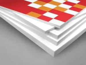 Großformatdruck auf PVC Platten